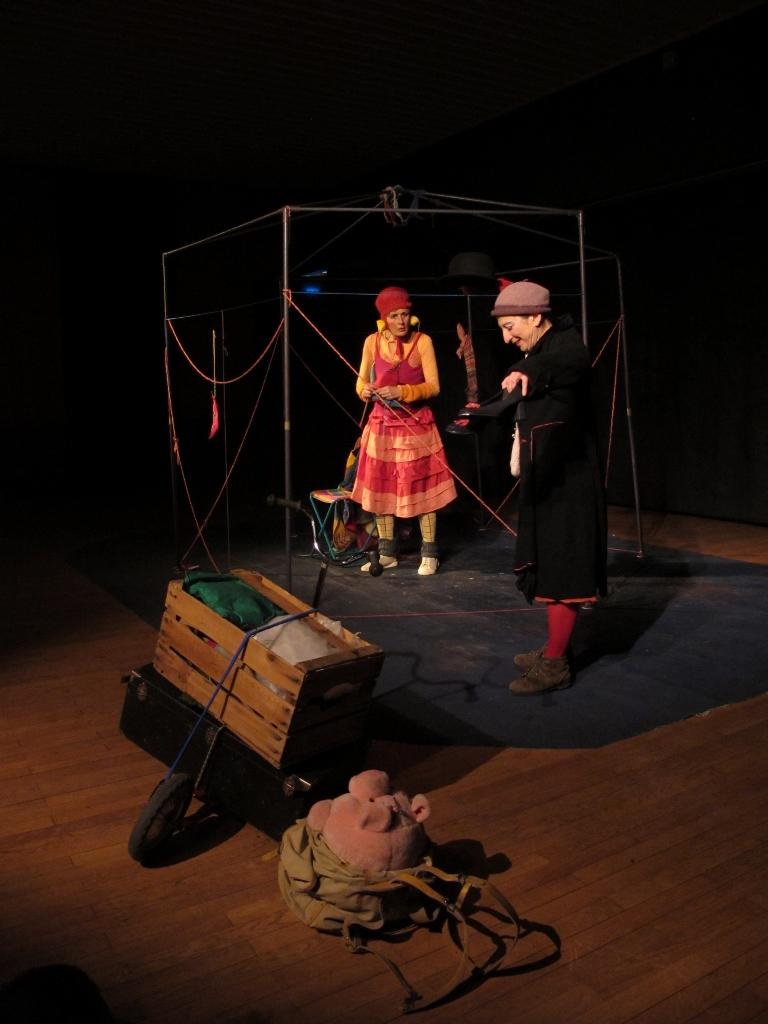 Petits riens et clopinettes - spectacle de clown - Drôme